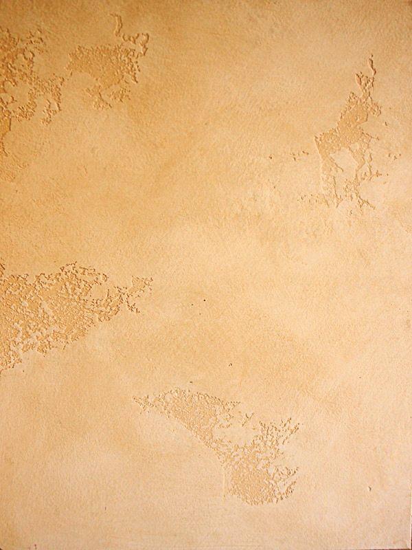 Острова, карта мира из известкового травертина