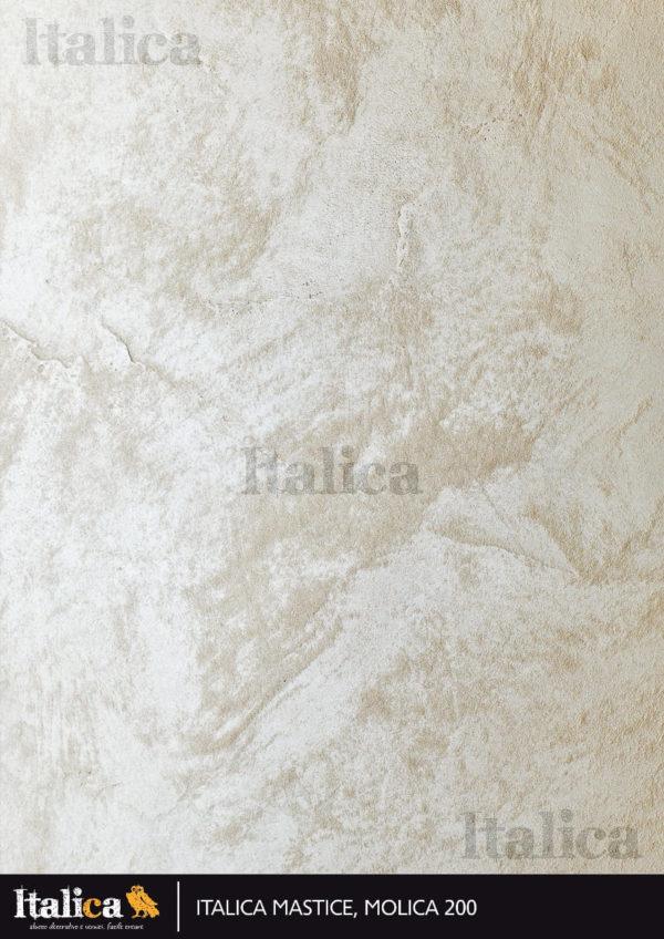 ITALICA MASTICE MOLICA 200 структурная паста с перламутровым песком