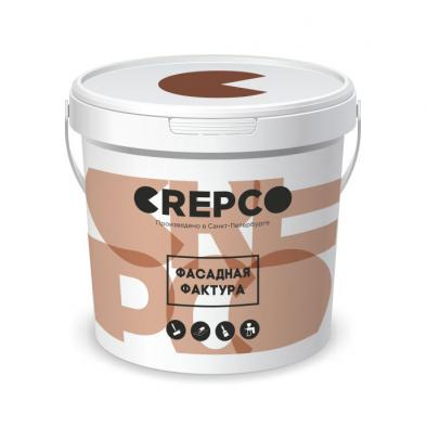 Crepco фасадная штукатурка
