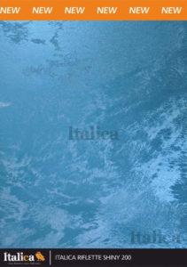 Декоративное покрытие ITALICA  RIFLETTE SHINY 400