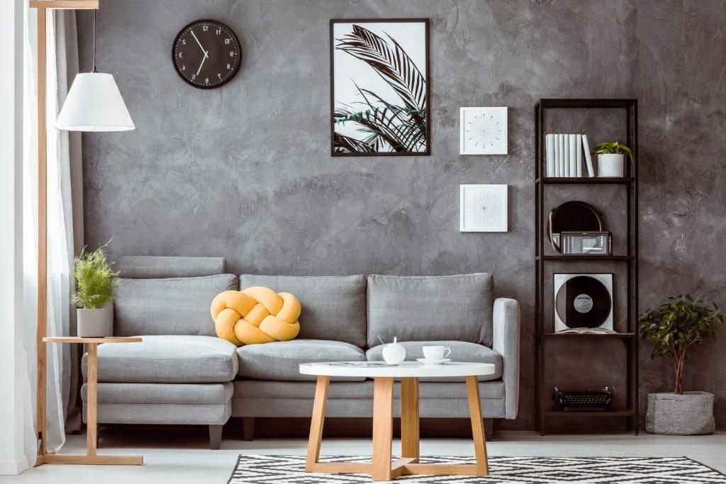 Эффект бетона на стене
